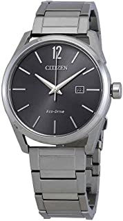 Citizen CTO Eco-Drive Gray Dial Men's Watch BM7410-51H