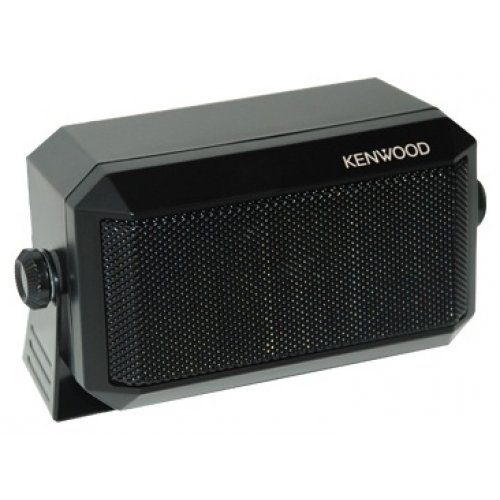 """Kenwood Original KES-3(S) External Speaker - Max. Input Power: 5 Watts, Impedance: 4 Ohms, Plug: 3.5mm, Dimension (W x H x D): 114 x 66 x 55 mm (4 1/2"""" x 2 19/32"""" x 2 5/32""""), Weight: 350g. (0.77 lbs)"""