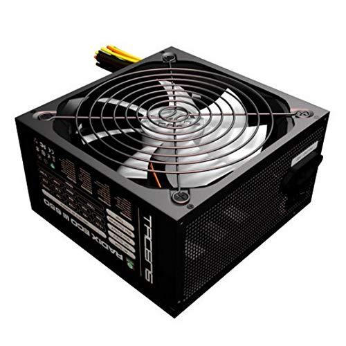 Tacens RADIXECOIII - Alimentatore per PC (650W, ATX, 12v, 10dB, + 87% di efficienza), nero
