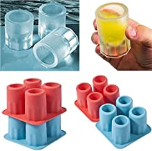 BALERINE Mold Ice-Cube Freeze Cool-Shape Drink New Only-Bar You-Can-Eat-A-Cup 4-Cup Party Hot