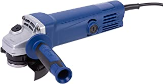 Ford 650 Watts 115mm Small Angle Grinder - Toggle Switch, Corded Compact Electric 4.5 inch for Metal / Steel / Concrete / ...