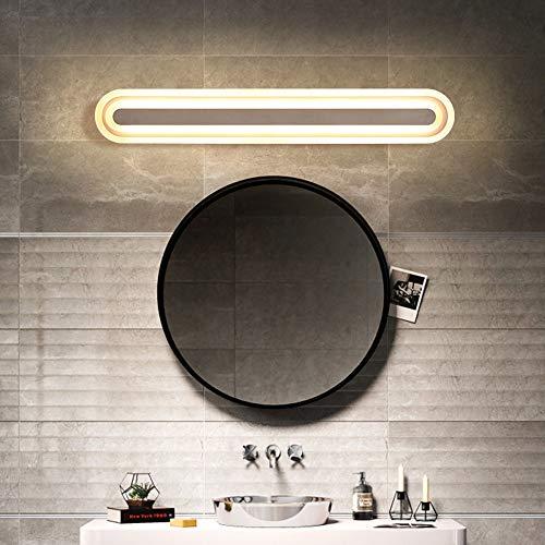 De enige goede kwaliteit Decoratie Led Spiegel Koplamp Badkamer Anti-mist Waterdichte Spiegelkast Licht Badkamer Led Licht Nordic Minimalistische Spiegel Koplamp Wandlamp Villa