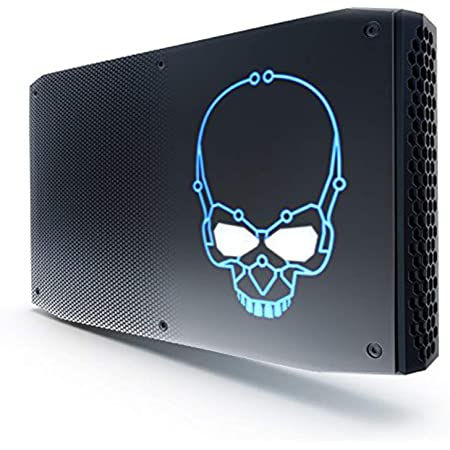 Intel NUC 8I7HVK2 - Kit ordenador Mini PC (Intel Core i7-8809GU, Espacio para hasta 32 GB SODIMM DDR4 RAM, Espacio para disco 2xM.2, Radeon RX Vega M GL Graphics)