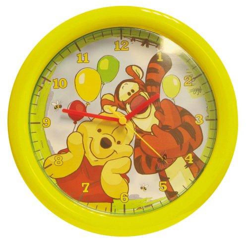 Disney - 004607 - Ameublement et Décoration - Horloge Ronde - Winnie The Pooh - 30 cm