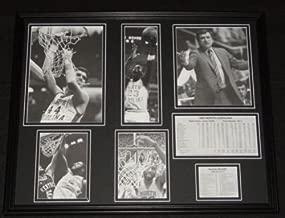 1981/82 North Carolina Tar Heels Team Framed 16x20 Photo Display Michael Jordan