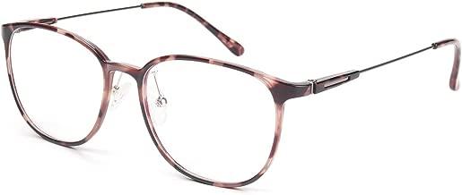 Livho Blue Light Blocking Glasses,UV/Ray Transparent Lens,Computer Glasses,Anti Eyestrain Scratch,Sleep Better Women/Men