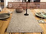 Luxflair XXL Tischläufer Tischband aus edlem Filz, modern, Graumeliert (+ weitere Farben), ca. 40x150cm, abwaschbar. Schlichtes Tisch-Accessoire - 2