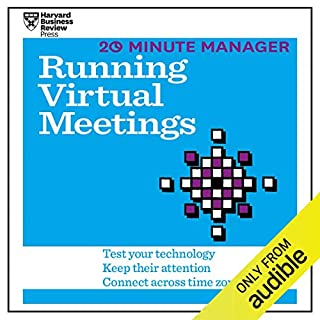 20 Minute Manager: Running Virtual Meetings cover art