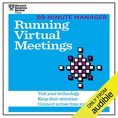 20 Minute Manager: Running Virtual Meetings audiobook cover art