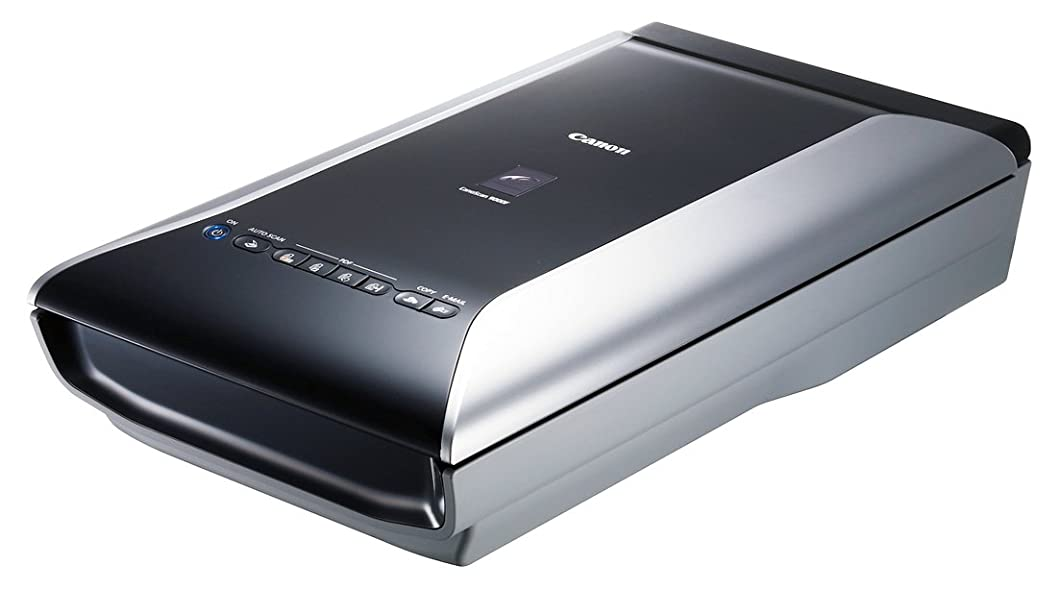 提案怖いシャーロックホームズCanon フラッドベッドスキャナー CanoScan 9000F A4対応 高精細CCDセンサー 9600dpi(フィルム) 発色LED搭載 35mmフィルム12コマ連続スキャン 本体内蔵ACアダプタ