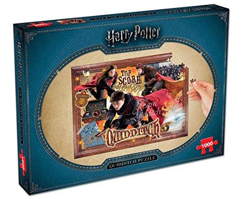 Winning Moves- Puzzle Harry Potter Quidditch 1000 Piezas, Multicolor, Talla única (2497)