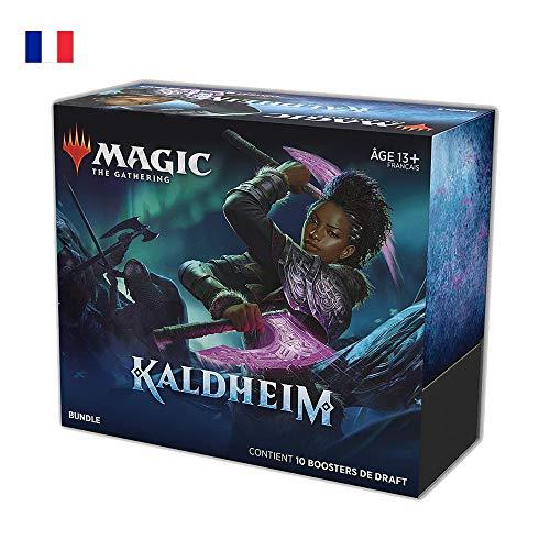 Magic The Gathering Kaldheim, 10 boosters de Draft (150 Cartes Magic) & Accessoires-Version française