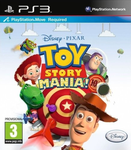 Infogrames Toy Story Mania!, PS3 - Juego (PS3, PlayStation 3, Partido, E (para todos))