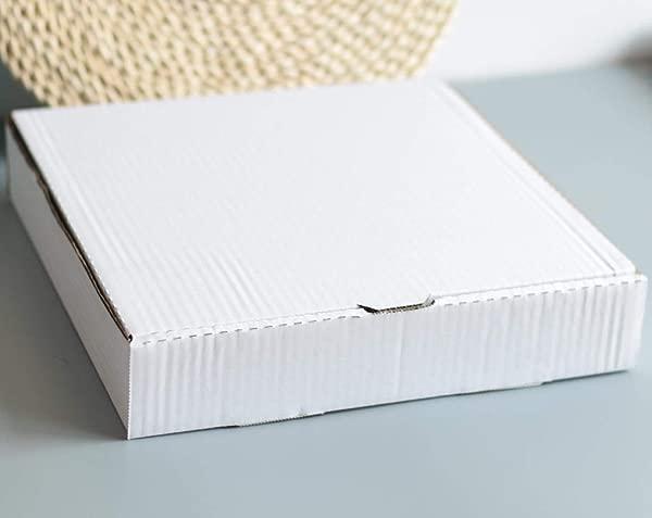 14 Premium White Corrugated Pizza Box 10 Pieces 14 Length X 14 Width X 1 8 Depth
