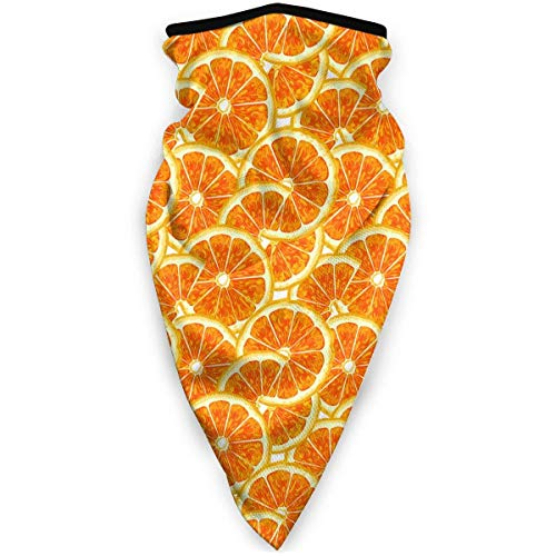 ENZOOIHUI Citrus Fruit Pattern Gesichtsmaske Bandanas für Männer Frauen, Windproof Magic Scarf für Outdoor, Sport
