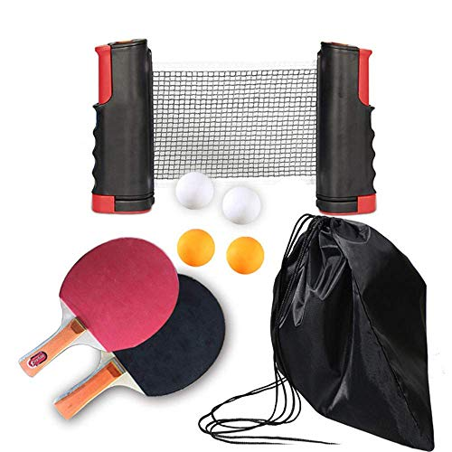 Why Should You Buy Table Tennis Set Portable Ping Pong Paddle Set Professional Table Tennis Paddles ...