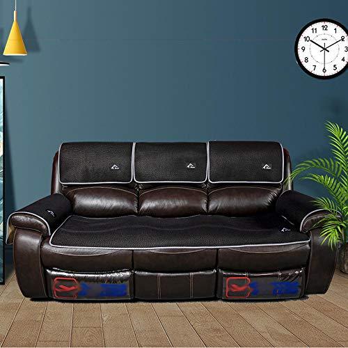 funda de sofá Funda con reposabrazos,fundas de sofá para sofás de cuero,fundas de masaje de 2/3/4/5 plazas,protector antideslizante para protector de sofá,protector de sofá seccional universal