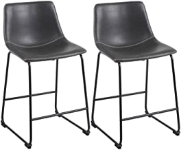 Best leather stool chair Reviews