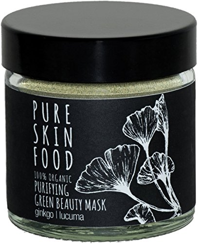 PURE SKIN FOOD Grüne Bio-Superfood-Maske für unreine Haut & Mischhaut