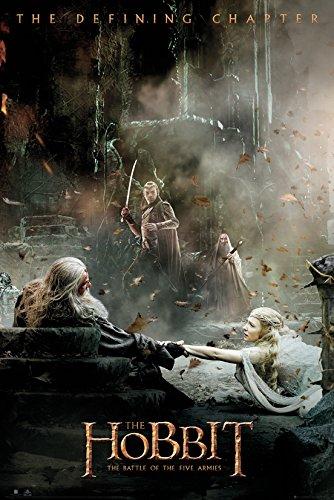 AMBROSIANA GB Eye Ltd, The Hobbit, La Batalla de Los Cinco ejércitos After, Maxi Poster, 61 x 91,5 cm