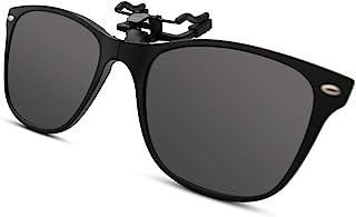 BAUHAUS Polarized Clip on Sunglasses for Men & Women UV Protection with Flip Up Anti Glare Fishing Driving Glasses …