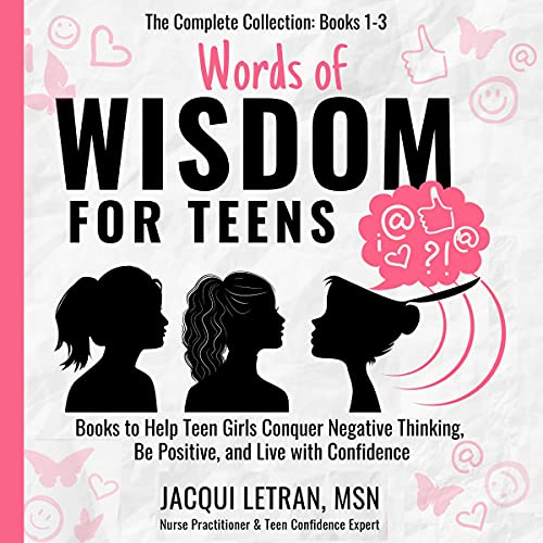Words of Wisdom for Teens Audiobook By Jacqui Letran cover art