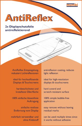 mumbi Schutzfolie kompatibel mit Huawei Honor 6 Folie matt, Displayschutzfolie (2X) - 5