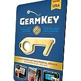 YouTheFan USA GermKey Brass No Touch Hand Tool