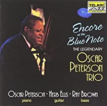 Encore at the Blue Note Live Edition by Oscar Peterson Trio (1993) Audio CD
