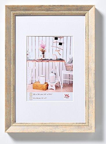 walther design EL040H Chalet Bilderrahmen, 30x40 cm, Natur