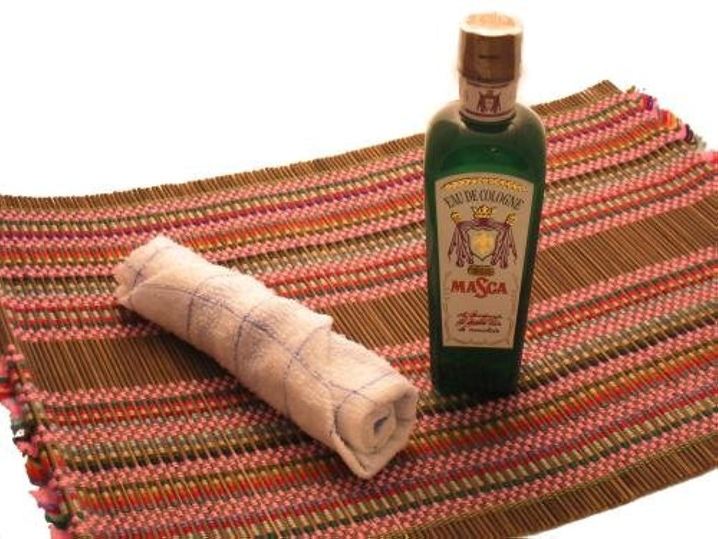 プレート格差添加剤オーデコロンMASCA タイ航空の香り フレングラス おしぼり アジアン雑貨