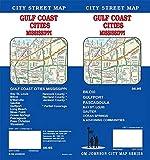 Gulf Coast Mississippi Cities / Biloxi/Gulfport/Pascagoula, Mississippi Street Map