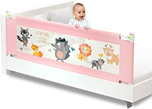 MAO Crib guardrail 1 5 vertical lift Children s anti-fall bedside baby shatter-resistant bed fence child safety bed bed along the bed railing