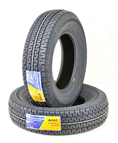 2 New Premium FREE COUNTRY Trailer Tires ST 205/75R14 8PR Load Range D