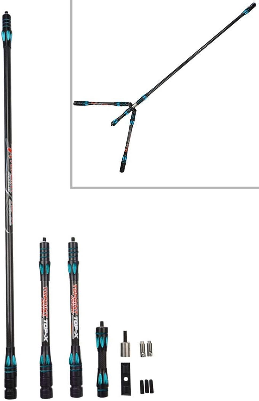SHARROW ボウバランスバー ボウスタビライザー コネクタ ショックアブソーバー Vバーキット サイドロッド アーチェリーアクセサリー ノイズ低減 弓矢の道具