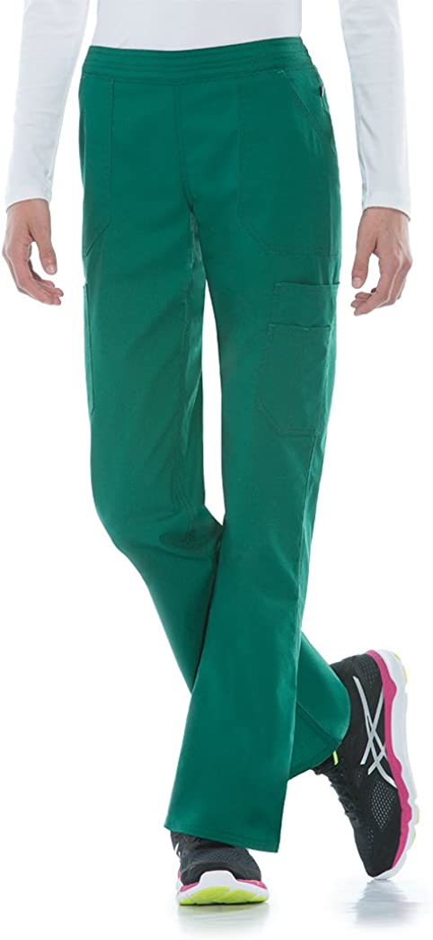 Dickies Women's EDS Signature Stretch Selling supreme Moderate Flare Mid-Rise Le