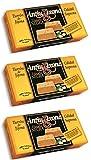 AntiuXixona Turrón Etiqueta negra calidad suprema - 3 Unidades de 150 g, Total: 450 g