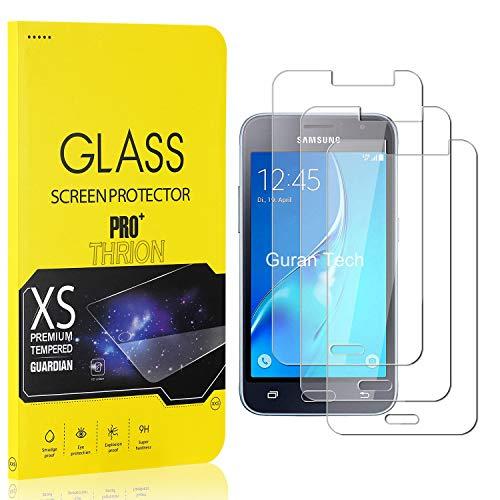 THRION 3 Stück Panzerglas für Galaxy J1 2016, Schutzfolie 2.5D HD Clear 9H Festigkeit Anti-Kratzen Blasenfrei Bildschirmschutzfolie Folie für Samsung Galaxy J1 2016