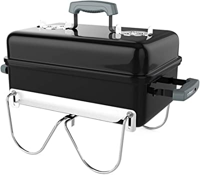 Jun Feng Shop Barbecue Grill, Outdoor Portable Charcoal Grill, Household Folding BBQ Grill, Carbon Barbecue Grill (3~7 Persons) BBQ Grill (Color : Black)