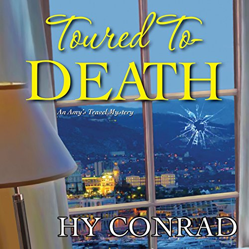 Toured to Death audiobook cover art