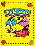 1art1 Gaming - Pac-Man Vintage Bilder Leinwand-Bild Auf