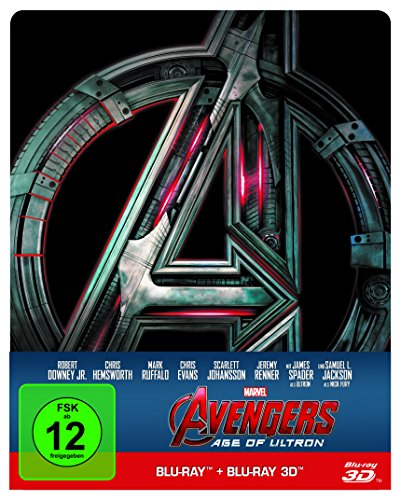 Marvel's The Avengers - Age of Ultron - Steelbook (+ Blu-ray 2D)