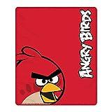 Angry Birds Red Bird Fleece blanket bed throw
