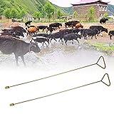 xianshiCarnevale di San Valentino Attrezzatura per Bestiame Raccoglitore di Saliva per esofago, Raccoglitore di Saliva Attrezzatura per Allevamento Mucca Antiscivolo per Animali(Cow Probe