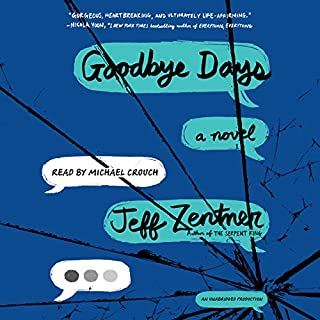 Goodbye Days audiobook cover art