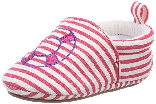 Sterntaler Chaussure de bébé Fille à semelle antidérapante, Âge: 18-24 Mois, Taille: 22, Couleur: Rose (Magenta), Art.-Nr.: 2301856
