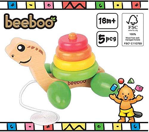 The Toy Company 0042706531 – Bee après Paire de Tortue avec Anneau empilable