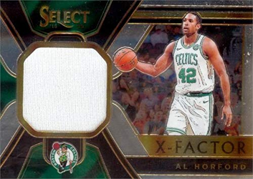 Al Horford player worn jersey patch basketball card (Boston Celtics) 2019 Panini Select X-Factor #XFAHF