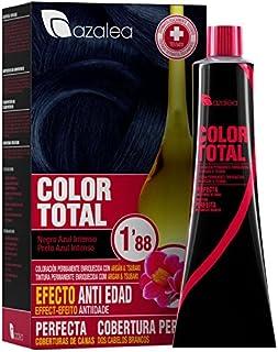 Azalea Total Tinte Capilar Permanente, Color Negro Azul
