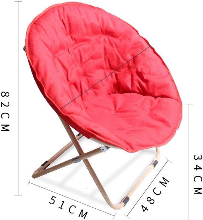 Chaise Longues Pliable Lune Chaise Chaise Sun Chaise amovible Balcon Recliner Chaise de camping for dossier en plein air, pique-nique, Backyard, Maison d'intérieur (Color : B) C